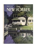 The New Yorker Cover - August 29, 1988 Regular Giclee Print by Arthur Getz