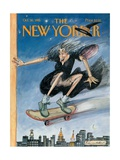 The New Yorker Cover - October 30, 1995 Regular Giclee Print by Edward Sorel