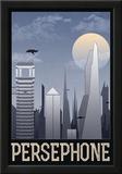 Persephone Retro Travel Poster Photo