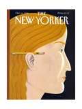 The New Yorker Cover - October 16, 1989 Regular Giclee Print by Kathy Osborn