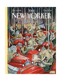 The New Yorker Cover - November 14, 1994 Regular Giclee Print by Edward Sorel