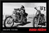 Easy Rider - Dennis Hopper & Peter Fonda on Motorcycles Poster
