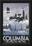 Columbia Retro Travel Poster Print