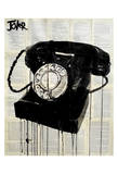 Black Phone Art by Loui Jover