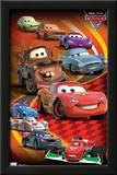 Cars 2 Group Movie Poster Posters