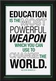Education Nelson Mandela Quote Photo