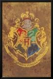 Harry Potter - Hogwarts Crest Prints