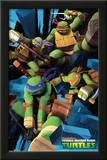 Teenage Mutant Ninja Turtles Attack Cartoon Poster Posters
