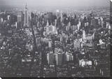 New York New York Canvas Stretched Canvas Print