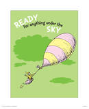 Ready for Anything (green) Poster by Theodor (Dr. Seuss) Geisel