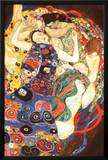 Gustav Klimt Virgin Art Print Poster Prints by Gustav Klimt