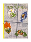 The New Yorker Cover - April 30, 1938 Regular Giclee Print by Roger Duvoisin