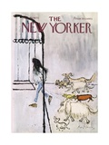 The New Yorker Cover - September 19, 1970 Regular Giclee Print by Ronald Searle