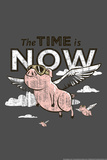 Pigs Flying Snorg Tees Poster Prints by  Snorg
