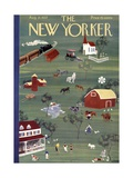The New Yorker Cover - August 21, 1937 Premium Giclee Print by Leonard Weisgard