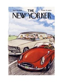 The New Yorker Cover - April 16, 1966 Regular Giclee Print by Charles Saxon