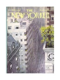The New Yorker Cover - April 22, 1967 Premium Giclee Print by Arthur Getz