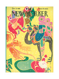The New Yorker Cover - December 22, 1928 Premium Giclee Print by Rea Irvin