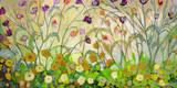 Mardi Gras Kunstdruck von Jennifer Lommers