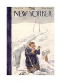 The New Yorker Cover - January 22, 1938 Giclee Print by Perry Barlow