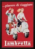 Lambretta - Vintage Style Italian Poster Prints