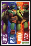 Teenage Mutant Ninja Turtles (Profiles) Poster