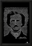 Edgar Allan Poe The Raven Text Poster Prints