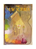 The New Yorker Cover - December 2, 1967 Regular Giclee Print by Arthur Getz