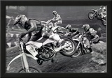 Dirt Bike Motorcyle Racing Archival Photo Poster Prints