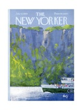 The New Yorker Cover - July 12, 1969 Premium Giclee Print by Arthur Getz