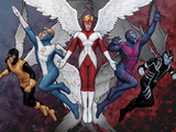 X-Men Evolutions No.1: Archangel Print by Christopher John Tyler