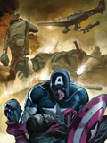 Captain America No.601 Cover: Captain America Poster by Colan Gene