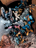 X-Men vs. Agents of Atlas No.1 Group: Colossus Prints by Pagulayan Carlo