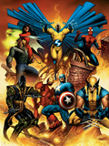 New Avengers No.1 Cover: Captain America Photo