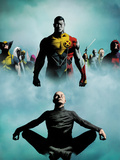 Heroic Age: X-Men No.1 Cover: Colossus, Wolverine, Storm, Rogue, and Magneto Posters by Jae Lee
