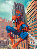 Marvel Age Spider-Man No.18 Cover: Spider-Man Photo by Roger Cruz