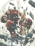 X-Men Unlimited No.4 Cover: Juggernaut Posters