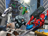 Spider-Man, Rhino, Green Goblin, and Doctor Octopus in the City Photo