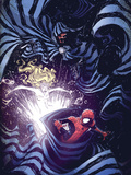 Marvel Adventures Spider-Man No.56 Cover: Spider-Man Cloak and Dagger Print by Skottie Young