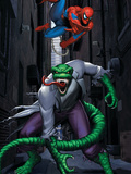Spider-Man and Lizard Posters