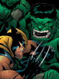 World War Hulk: X-Men No.2 Cover: Wolverine and Hulk Posters by McGuiness Ed