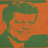 Flash-November 22, 1963, 1968 (orange & green) Print by Andy Warhol