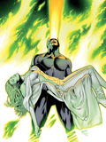 X-Men: Phoenix - Endsong No.4 Cover: Cyclops and Emma Frost Posters by Greg Land