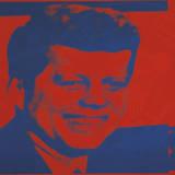 Flash-November 22, 1963, 1968 (red & blue) Kunstdrucke von Andy Warhol