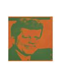 Flash-November 22, 1963, 1968 (orange & green) Plakater af Andy Warhol