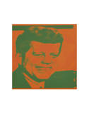 Flash-November 22, 1963, 1968 (orange & green) Prints by Andy Warhol