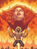 New X-Men No.150 Cover: Phoenix and Wolverine Affiches par Jimenez Phil
