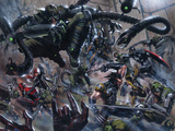 Secret War No.3 Group: Wolverine, Doctor Octopus, Black Widow, Daredevil and Captain America Foto