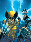 X-Men No.159 Cover: Wolverine and Havok Print by Larroca Salvador