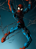 Ultimate Spider-Man No.74 Cover: Spider-Man Prints by Mark Bagley